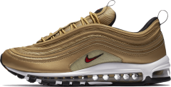"Кроссовки Nike Air Max 97 OG QS ""Metallic Gold"""