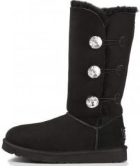 UGG Bailey Button Bling Triplet Black