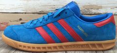"Кроссовки Adidas Hamburg ""Blue/Red"""