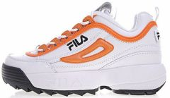"Кроссовки Fila Disruptor II ""White/Orange"""
