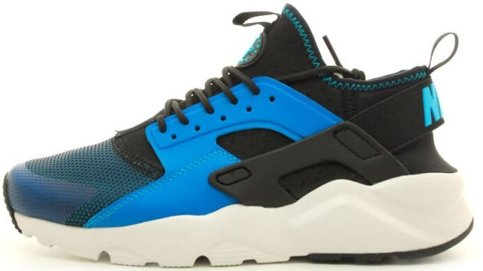 "купити Кросівки Nike Air Huarache Ultra Run ""Blue Lagoon/Black/White"" в Україні"