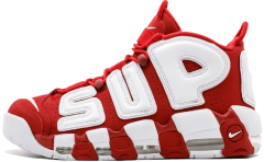 "Кроссовки Nike Air More Supreme ""Red/White"""