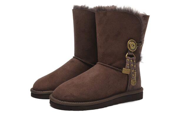 купить UGG Bailey Button Azalea Chocolate в Украине