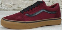 "Кеды Vans Old Skool Suede ""Bordo/Black/Gum"""