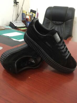 "купить Кроссовки Puma Creeper by Rihanna Suede x Fenty ""Triple Black"" в Украине"