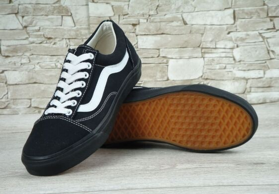 "купить Кеды Vans Old Skool ""Black/White/Black"" в Украине"