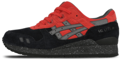 "Кроссовки Asics Gel-Lyte III Christmas Pack ""Black/Red/Grey"""