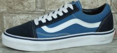 "Кеди Vans Old Skool Suede ""Navy/Blue/White"""