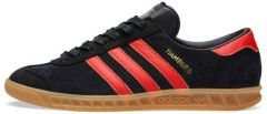 "Кроссовки Adidas Hamburg ""Black/Red"""