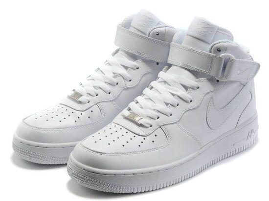 1092b54375ede8 Кросівки Nike Air Force Tall White купити в TEMPOSHOP.