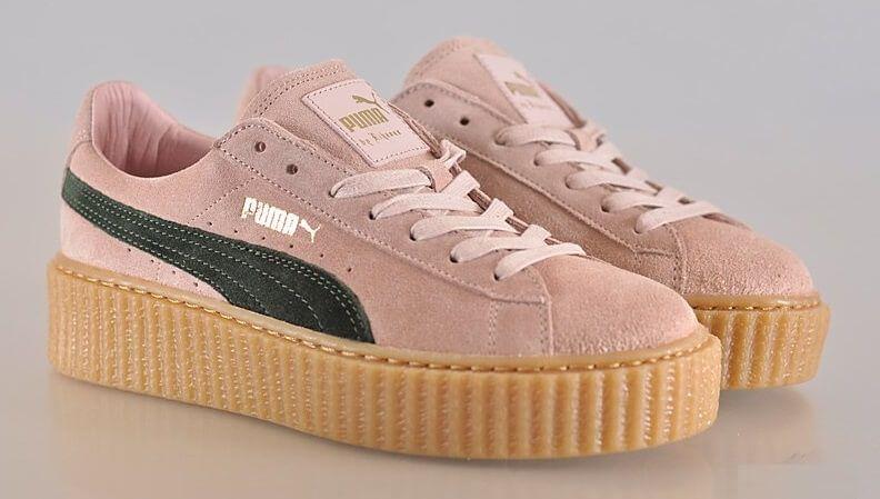 separation shoes 24058 74481 Кроссовки Puma by Rihanna Creeper Suede