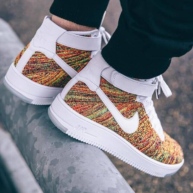 e0a4071f Кроссовки Nike Air Force 1 Ultra Flyknit Mid