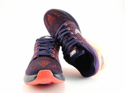 c8ac3ce5 Кроссовки Nike Lunarglide 7 FLASH Black/Red Sun купить в TEMPOSHOP.