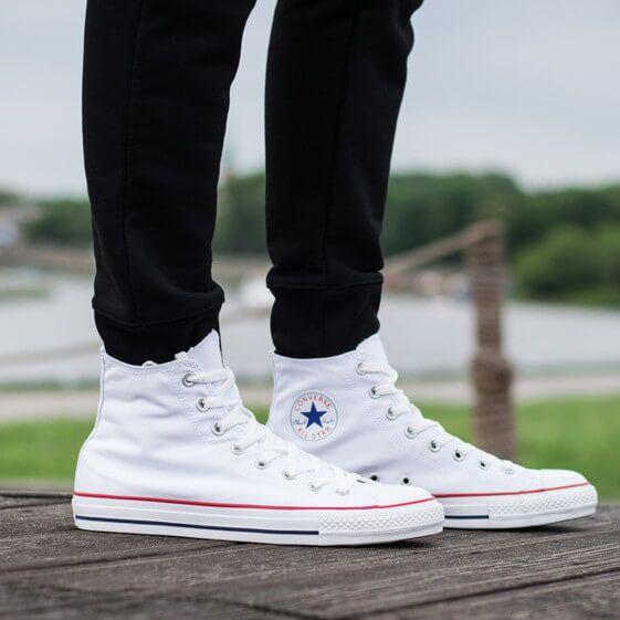 Кеди Converse All Star Високі Білі купити в TEMPOSHOP. 5e09181899a09