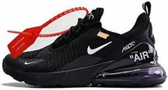 "Кроссовки Off-White x Nke Air Max 270 ""Black"""