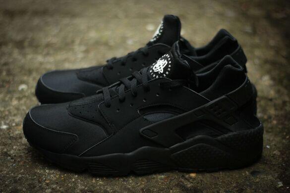 c25b338a Кросівки Nike Air Huarache Triple Black купити в TEMPOSHOP.