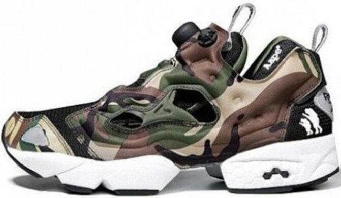 купити Кросівки Reebok Insta Pump Fury x OG Bape