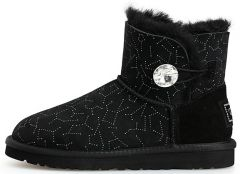 UGG Bailey Button Mini Bling Constellation Black
