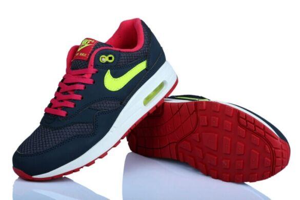 e9ef7df93ca89d Кросівки Nike Air Max 87 Dark Blue/Pink/Lime купити в TEMPOSHOP.
