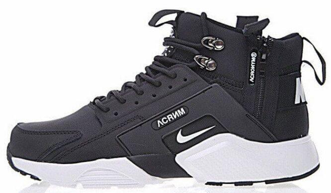 23136f0391ce86 купить Кроссовки ACRONYM x Nike Air Huarache City Mid